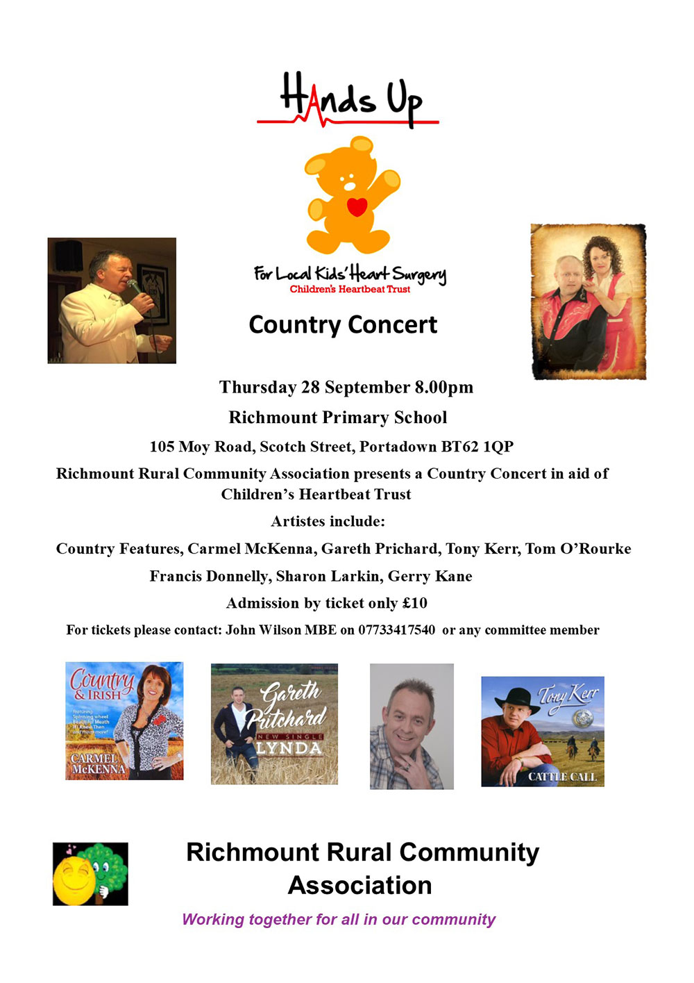 Childrens Heartbeat Trust Country Concert