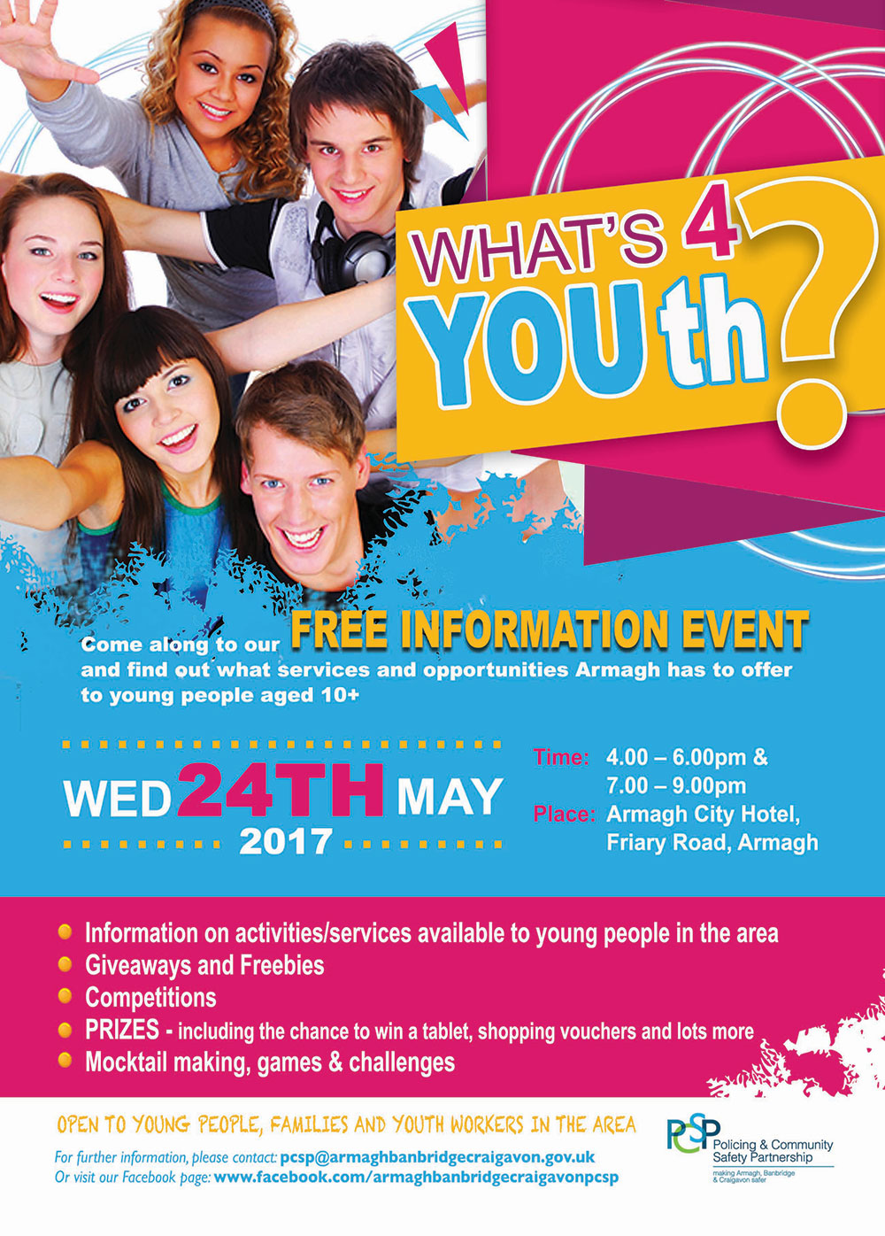 what u0026 39 s 4 youth in armagh