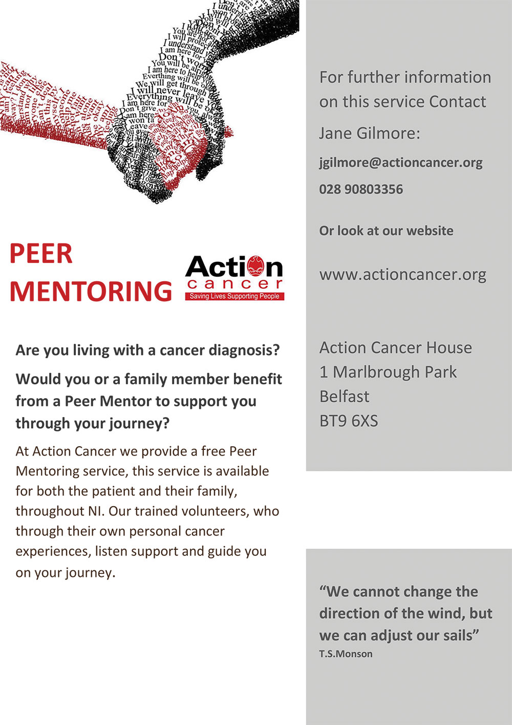 Action Cancer Peer Mentoring