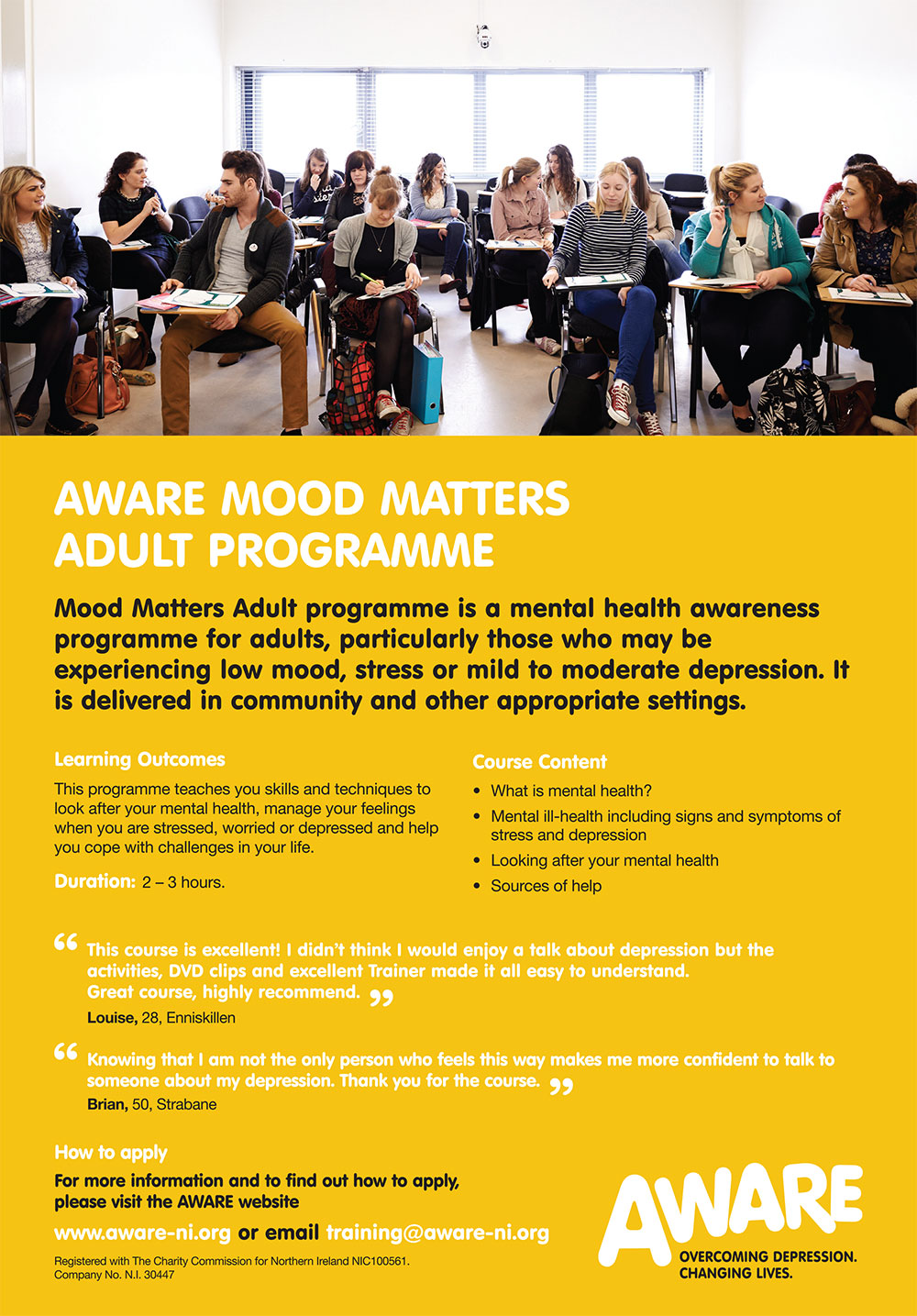 AWARE Mood Matters Adult Programme