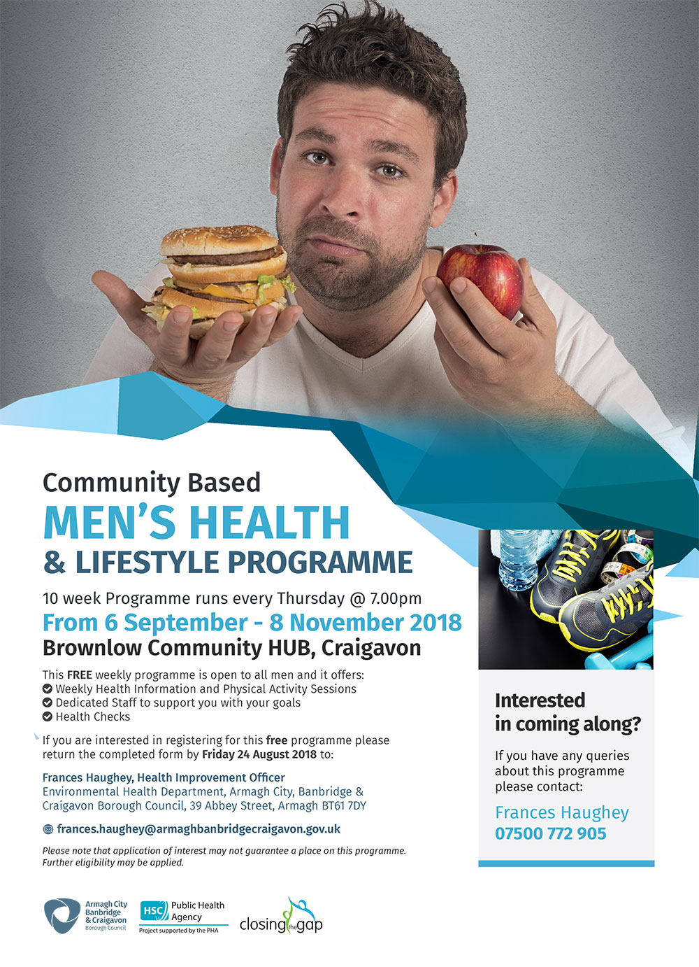 MENS HEALTH LIFESTYLE PROGRAMME