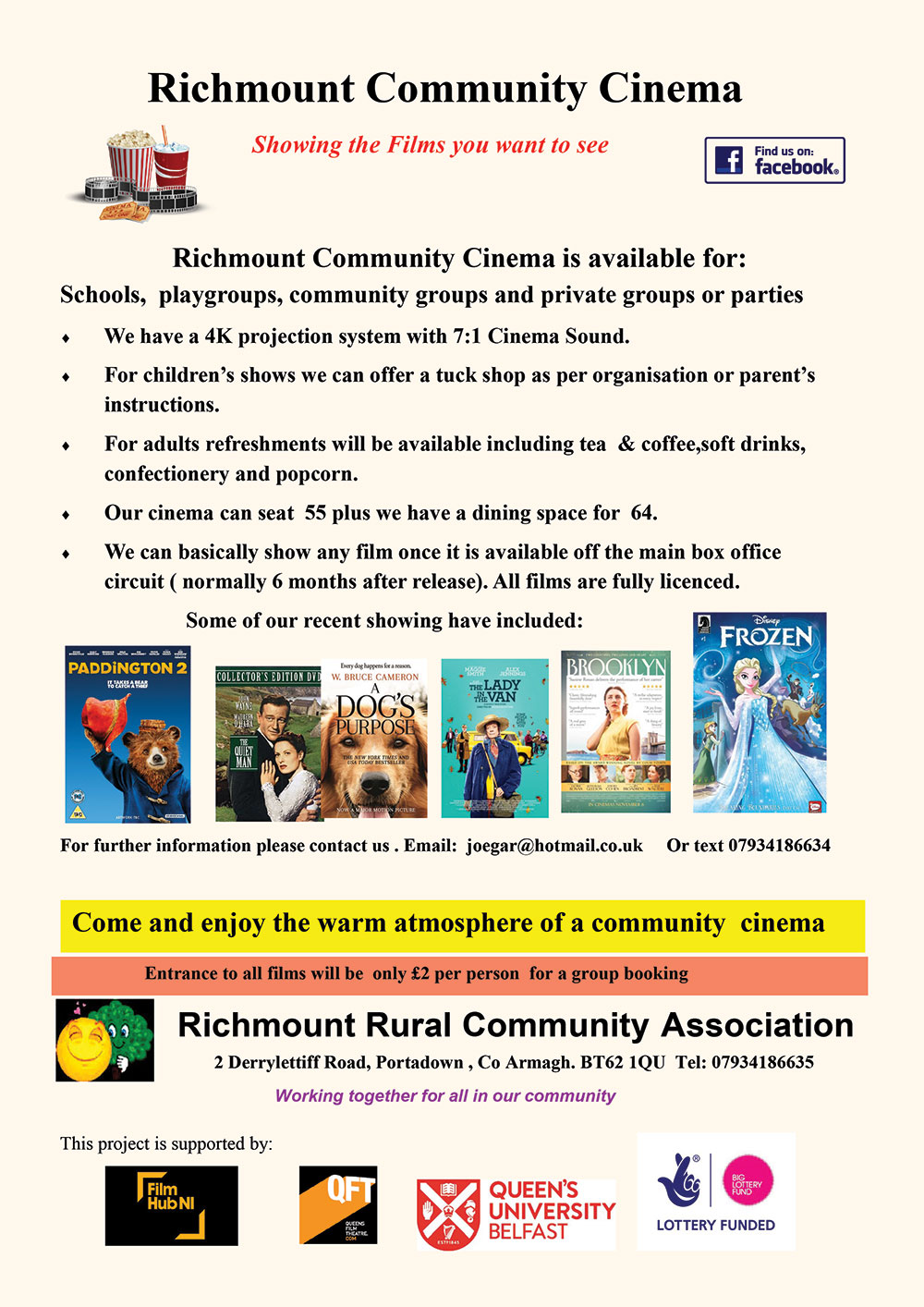 Richmount Community Cinema