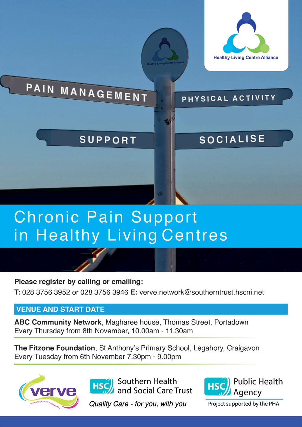 HSC Pain Support Flyer