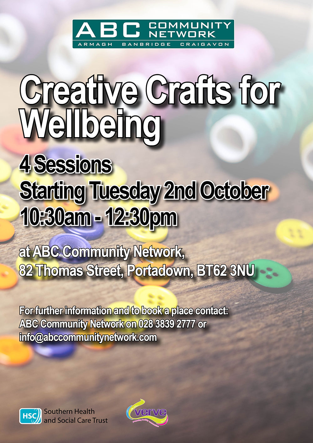 Creative Crafts for Wellbeing