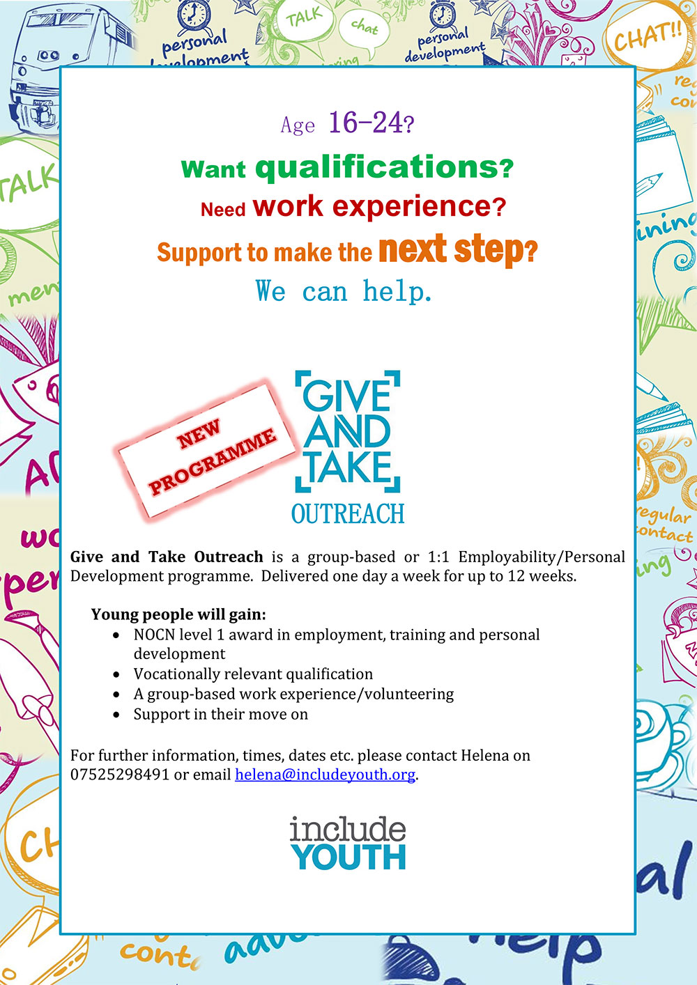 Give and Take Outreach
