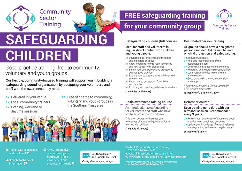 CST: Safeguarding Children Training FREE for community