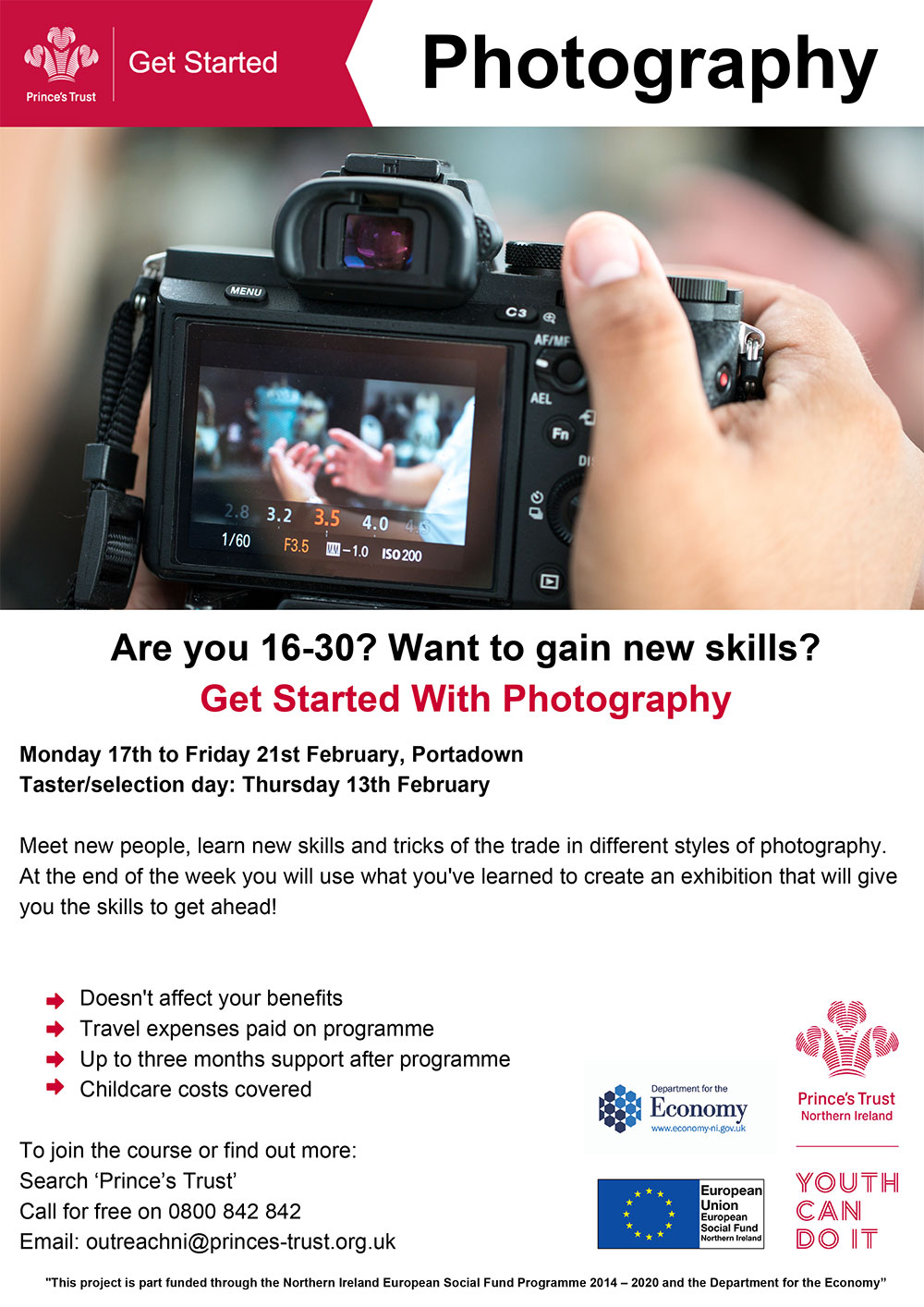 Get Started with Photography Portadown 2