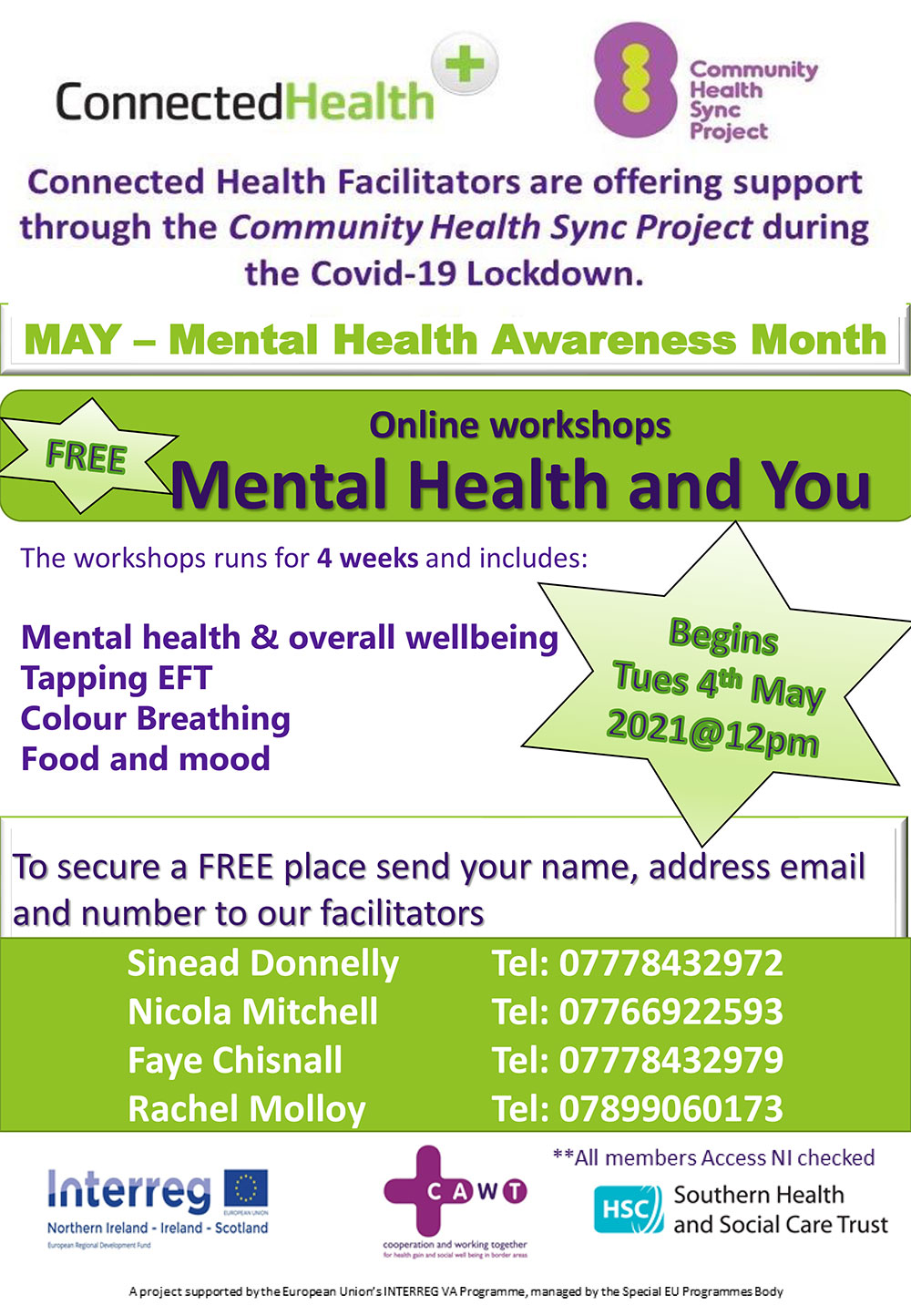 MH awareness workshops 2